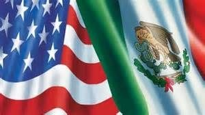 US Mexican flag